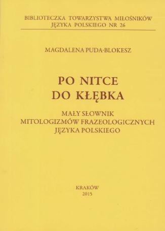 Po nitce do kłębka Magdalena Puda-Blokesz