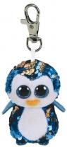 Brelok-maskotka Beanie Boos - Cekinowy Pingwin 8,5cm (35302)