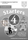Cambridge English Starters 4 Answer Booklet