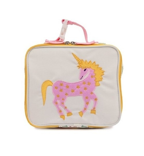 Lunchbox Pink Lining Jednorożec