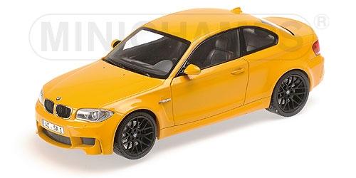MINICHAMPS BMW 1er M Coupe 2011 (yellow) (110020026)