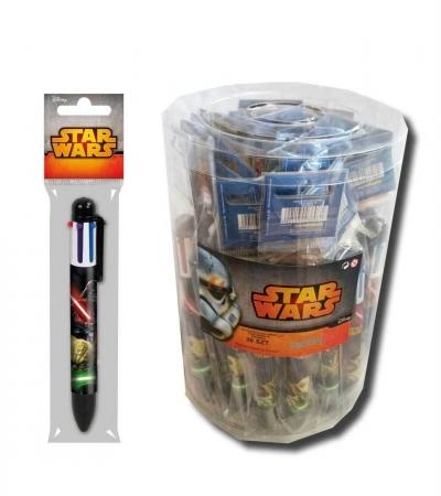 Długopis 6 kolorów Star Wars
