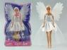 Lalka 29cm ze skrzydłami anioła