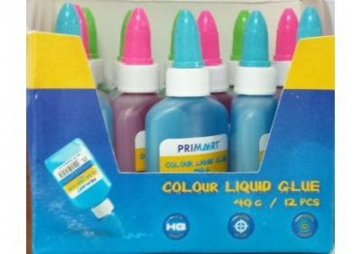 Klej w płynie 40g kolorowy PRIMA ART