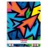 Brulion A4/80 kartkowy w kratkę Neon Art (50027880)