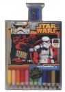 Kredki Bambino w oprawie drewnianej 12 kolorów + temperówka Star Wars