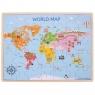 Drewniana Mapa Świata