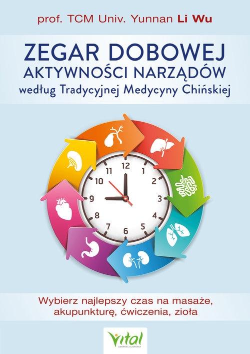 Zegar dobowej aktywności narządów według Tradycyjnej Medycyny Chińskiej Li Wu