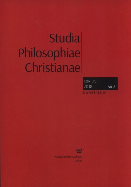 Studia Philosophiae Christianae 2/2018