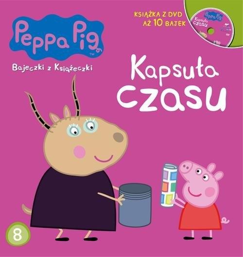 Świnka Peppa Bajeczki z książeczki Część 8 Kapsuła  czasu opracowanie zbiorowe