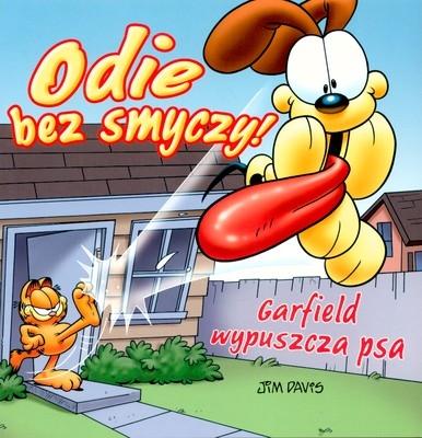 Garfield Odie bez smyczy Garfield wypuszcza psa Davis Jim