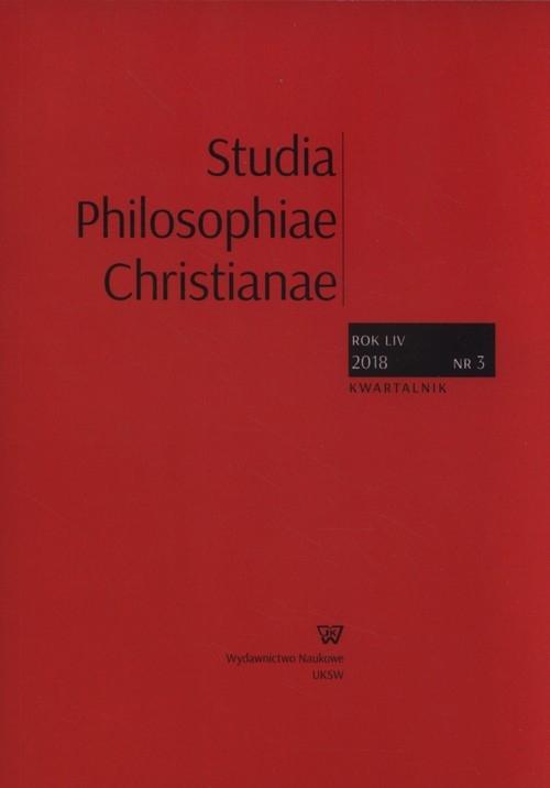 Studia Philosophiae Christianae 3/2018