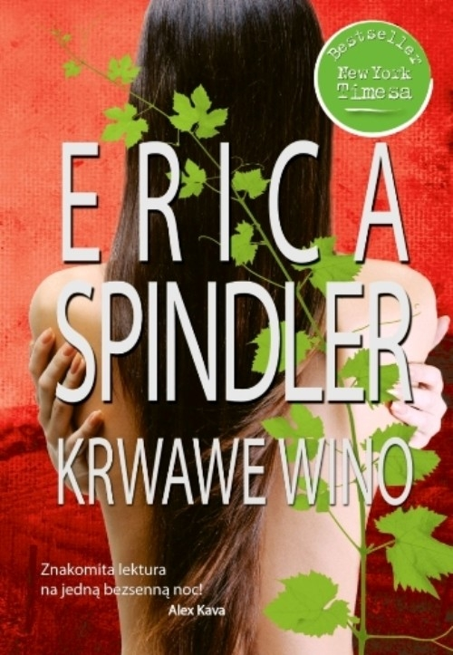 Krwawe wino Spindler Erica