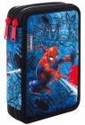 Coolpack - Jumper XL - Disney - Piórnik podwójny z wyposażeniem - Spider-man Denim (B77304)