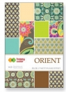 Blok z motywami Effect Orient - 10 arkuszy Happy Color (2029-OR)