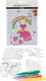 Zestaw mini puzzle - Księżniczka