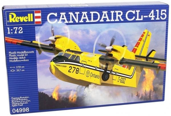 Model plastikowy Kanadyjski bombowiec amfibia CL-145 (04998)