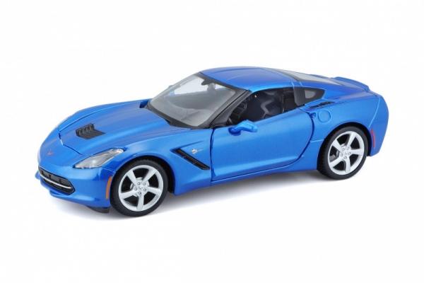 Corvette Stingray coupe 2014 1/24 Niebieska (10131505/2)