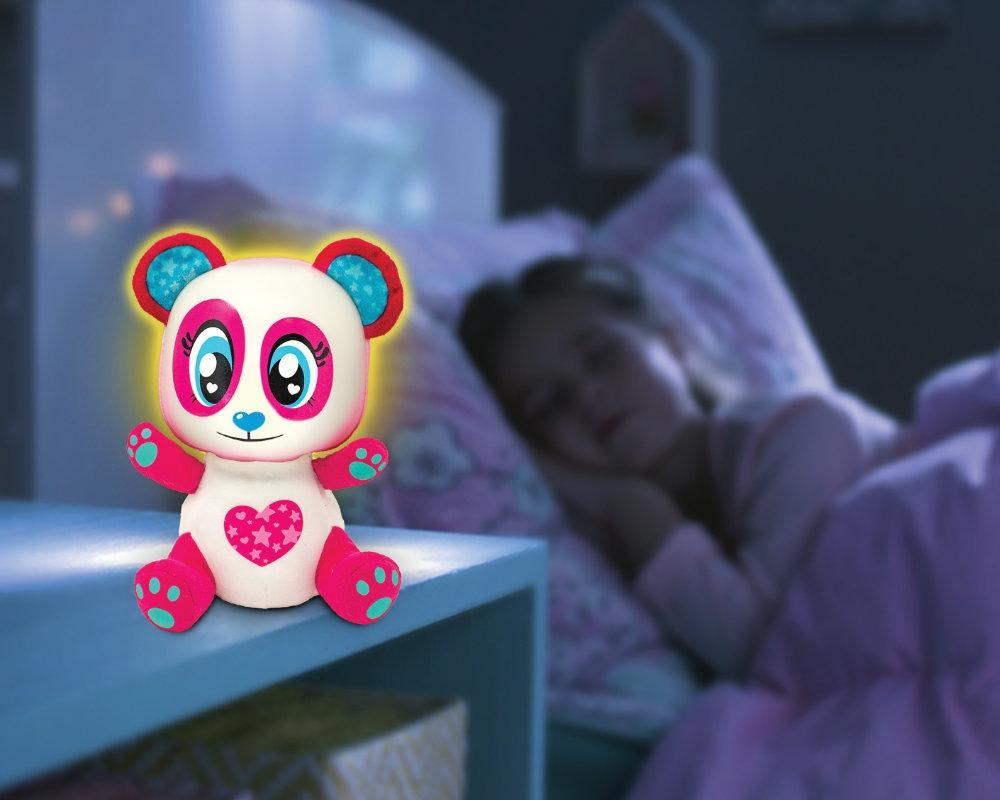 Luminki: Świecący przyjaciele - Miś Bella. Maskotka interaktywna (EP04132/91984)