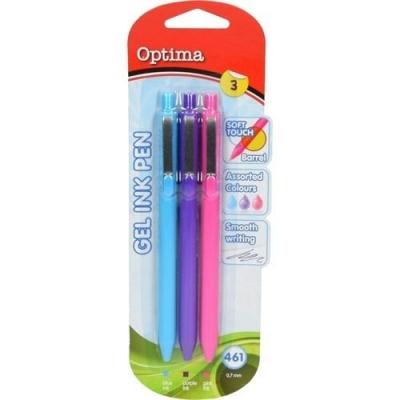 Długopis żelowy 461 pastelowe OPTIMA