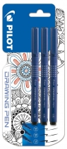 Markery do rysowania Drawin pen BLX3 3szt PILOT