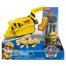 Psi Patrol, Flip and Fly Pojazd z figurka, Rubble (6037883/20088698)
