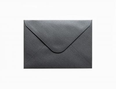 Koperta Galeria Papieru pearl C6 - czarny (280277)