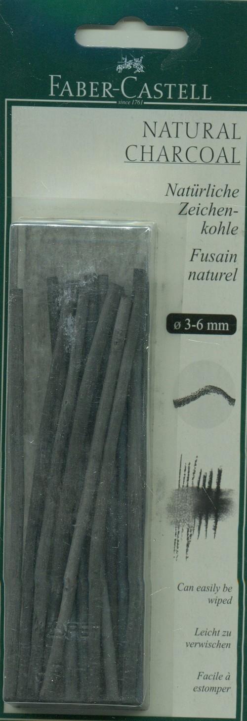 PITT Monochrome Natural Grafit węglowy 3-6 mm