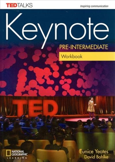 Keynote A2 Pre-Intermediate Workbook with CD-audio
