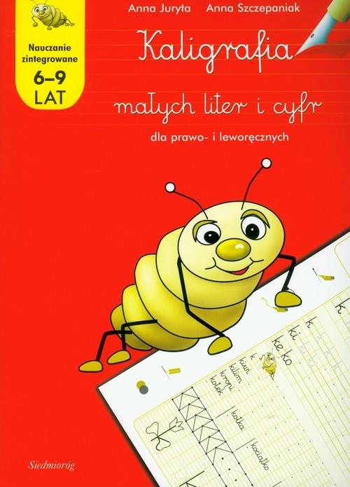 Kaligrafia małych liter i cyfr dla prawo- i leworęcznych Juryta Anna, Szczepaniak Anna