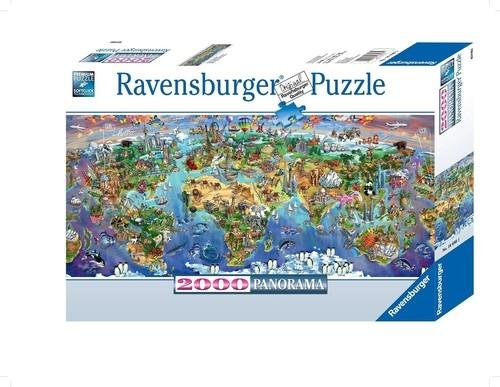 Puzzle panorama Cuda Ziemi  2000 (166985)