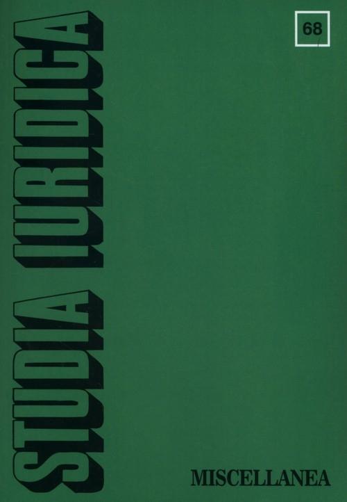 Studia Iuridica 68