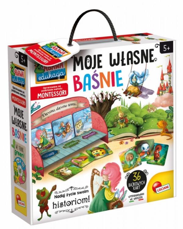 Montessori - Moje własne baśnie (304-PL72644)