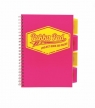 Kołozeszyt B5 Pukka Pad Project Book Neon różowy (7298-NEO)
