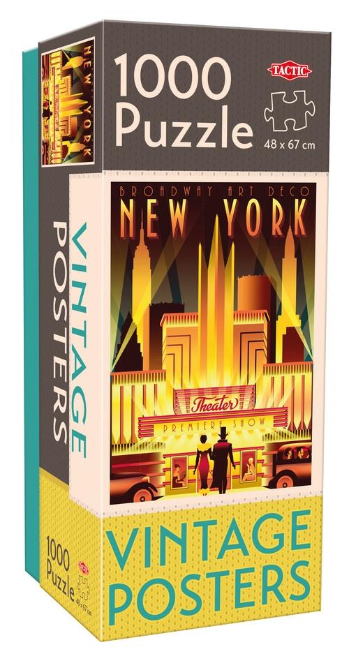 Puzzle Vintage New York 1000 el /58298/