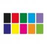 Zeszyt A4/96k w kratkę - Rainbow (9563982)mix kolorów