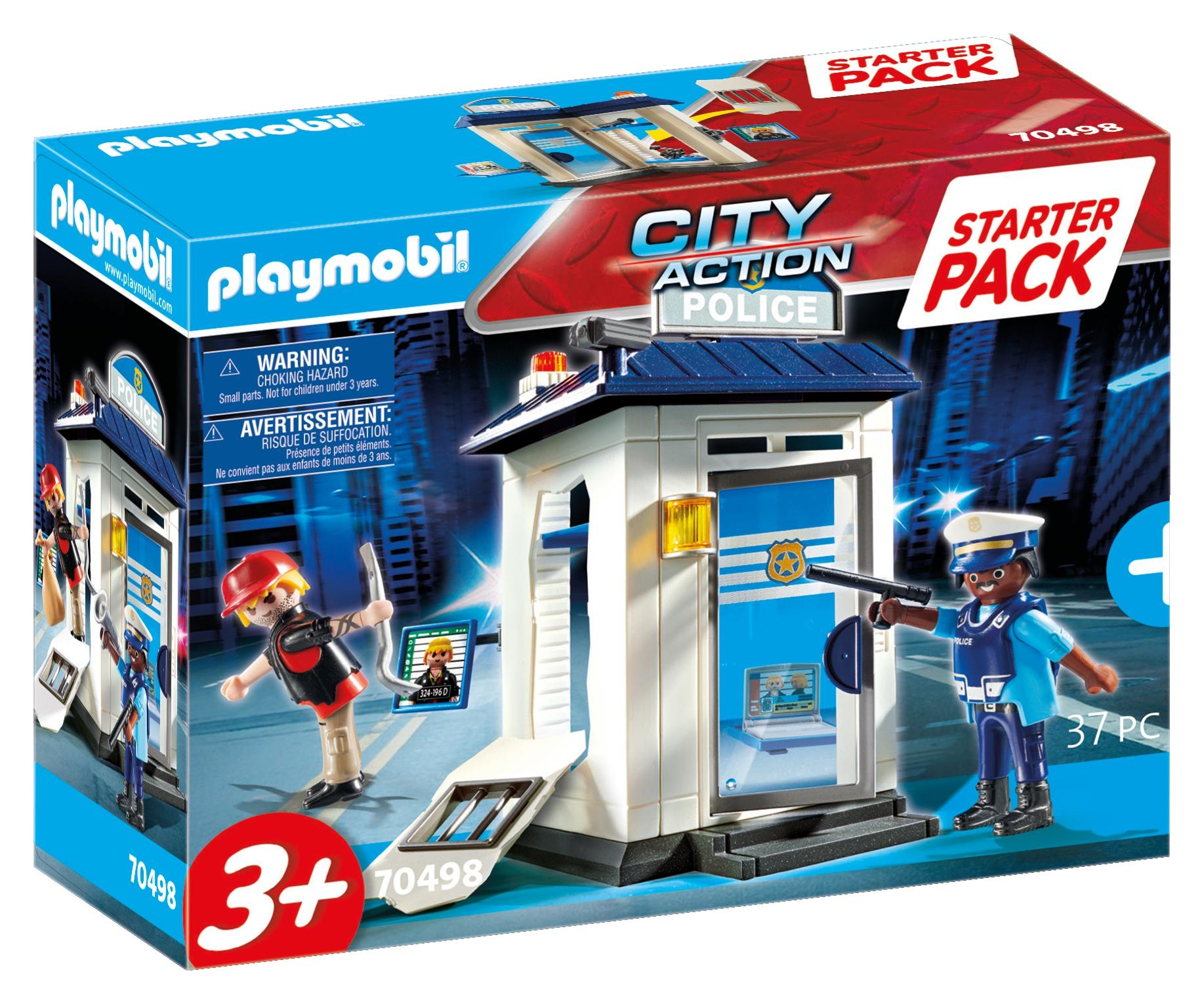 Playmobil City Action: Starter Pack Policja (70498)