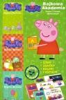 Bajkowa Akademia. Świnka Peppa nr 1 ABC (3 książki)