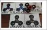 Spinner panterka, różne kolory