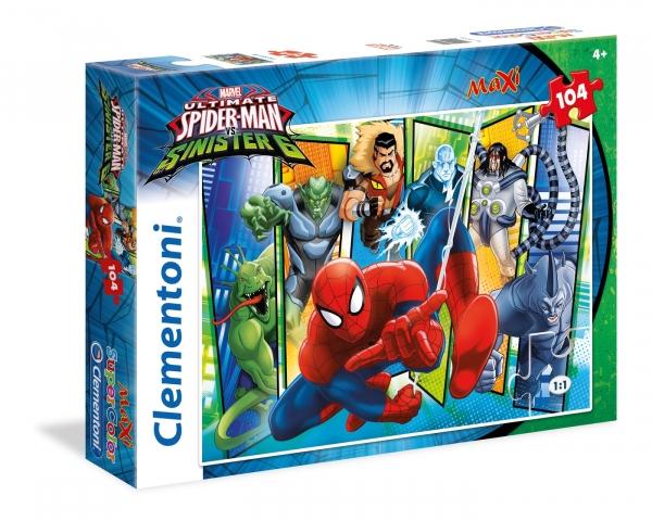 Puzzle Maxi SuperColor Spiderman vs Sinister 6 (23704)