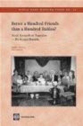 Better a Hundred Friends Than a Hundred Rubles? Nora Dudwick, Kathleen Kuehnast