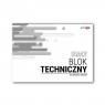 Blok techniczny biały A3/10K (10szt) STRIGO