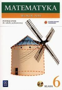 Matematyka wokół nas 6 Podręcznik z płytą CD Lewicka Helena, Kowalczyk Maria