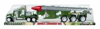 Samochód Mega Creative wosjkowy z rakietą (459848)