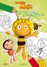 Pszczółka Maja Koloruj i naklejaj