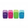 Temperówka na 2 grubości z gumką (ES05) mix kolorów