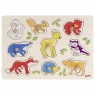 Puzzle z uchwytami - zwierzęta leśne (57701)