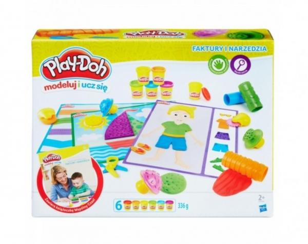 PlayDoh Faktury i narzędzia (B3408P)