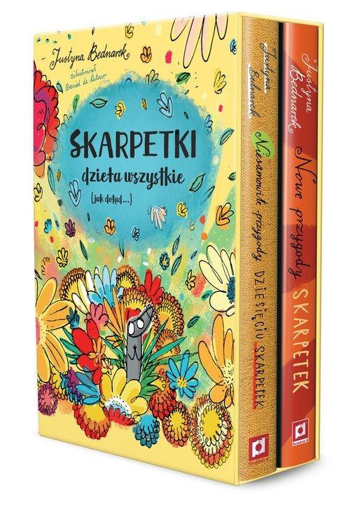 Pakiet Skarpetki Dzieła wszystkie - Niesamowite przygody dziesięciu skarpetek / Nowe przygody skarpetek Bednarek Justyna