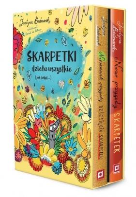 Pakiet Skarpetki Dzieła wszystkie - Niesamowite przygody dziesięciu skarpetek Bednarek Justyna
